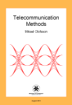 Telecommun­ication Methods frontpage